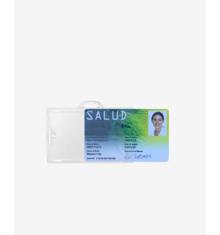 Portabadge IDX 140 con card