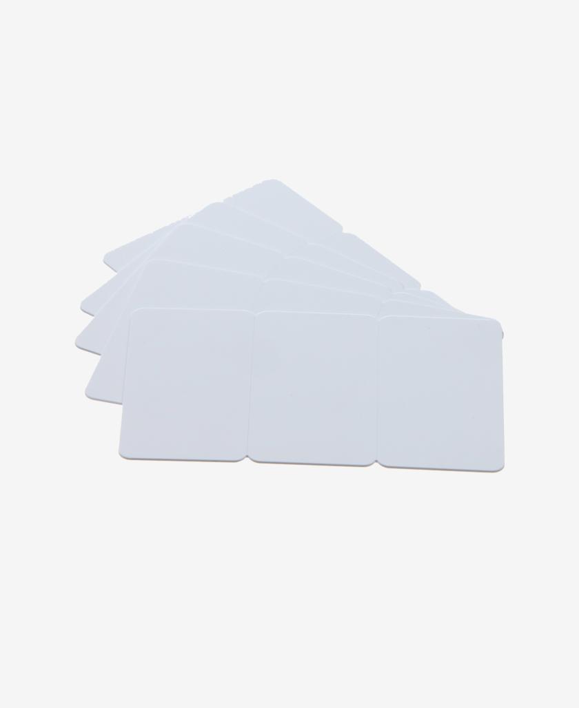 Tricard bianche neutre