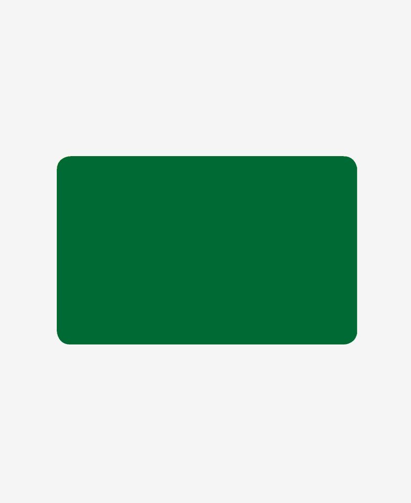Carte bifacciali con fondo colorato verde 0,76 mm