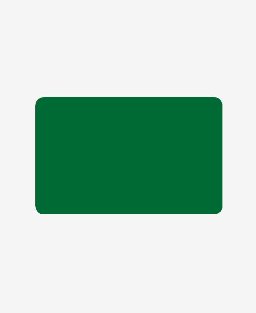 Double-sided green cards 0,76 MM